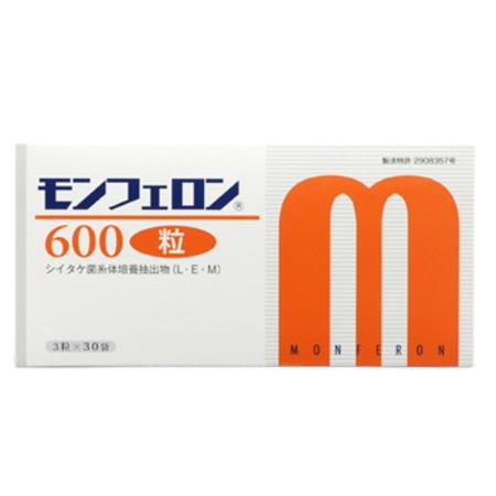 シイタケ菌糸体 健康食品 モンフェロン600【粒状】(コアレムSをご愛用頂いたお客様に)