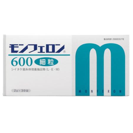 シイタケ菌糸体 健康食品 モンフェロン600(コアレムG500をご愛用頂いたお客様に)