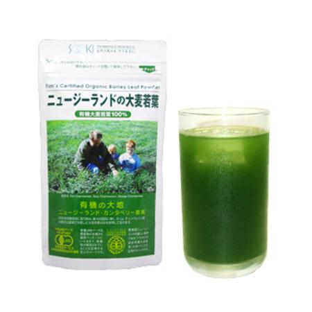 ニュージーランドの大麦若葉 お徳用90g 1袋(旧ティムさんの大麦若葉) [青汁]