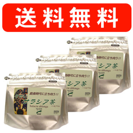 そせいサラシア茶 3袋 [サラシアオブロンガが主成分の健康茶/ダイエットに人気(サラシノール茶)]